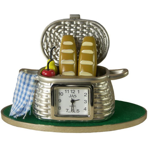 Picnic Basket Clock