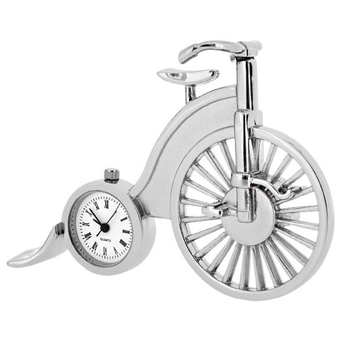 C231 - Old Fashioned Bicycle Miniature Clock