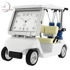 Golf Cart Miniature Clock