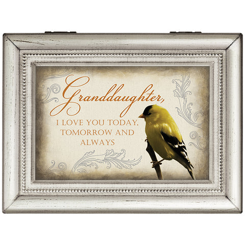 "Carson Music Box ""Granddaughter Always"""