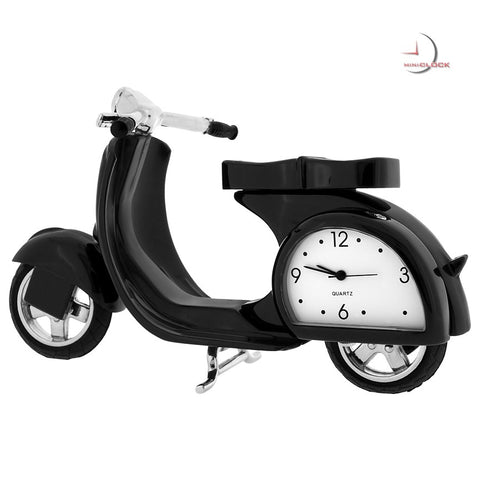 Vespa Scooter Miniature Clock