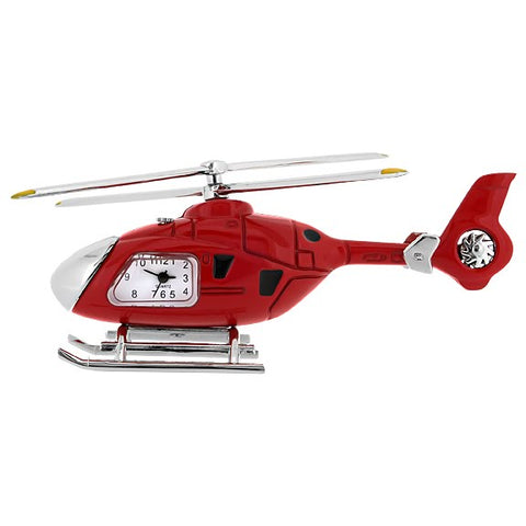 Helicopter Mini Clock
