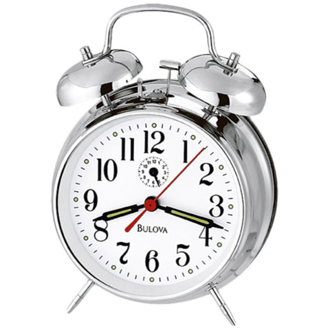 Bellman II Chrome Alarm Clock