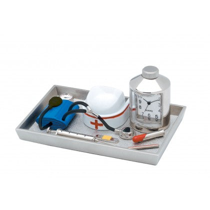 Nurse Tray Mini-Clock