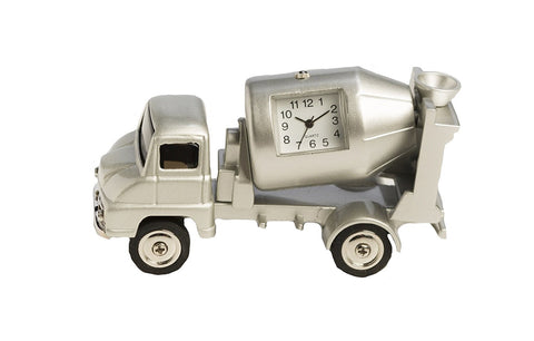 Cement Truck Miniature Clock