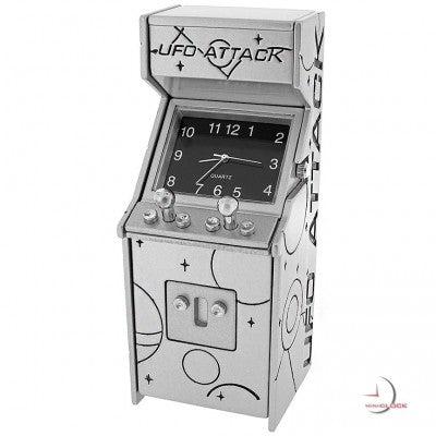 Arcade Game Miniature Clock