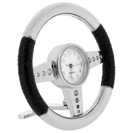 Steering Wheel Miniature Clock
