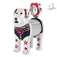 Spring Dog Miniature Clock