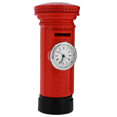London Post Box Clock