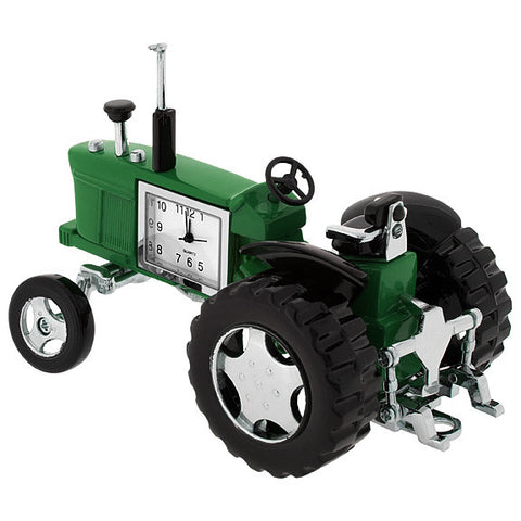 Tractor Mini Clock - Green
