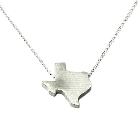 Texas Silhouette Necklace