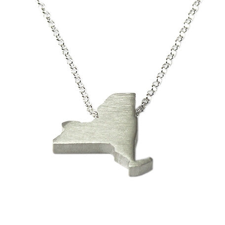 New York Silhouette Necklace