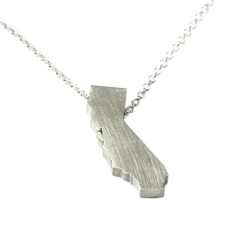 California Silhouette Necklace