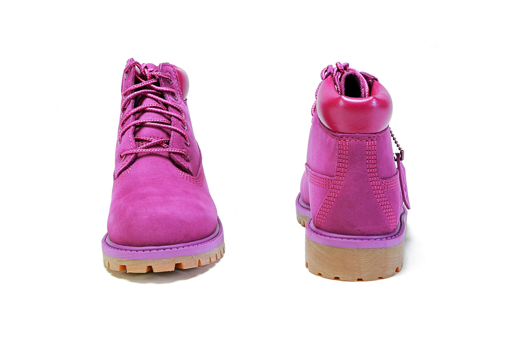 "Youth's 6"" Premium Boots (M) - Bright Purple"