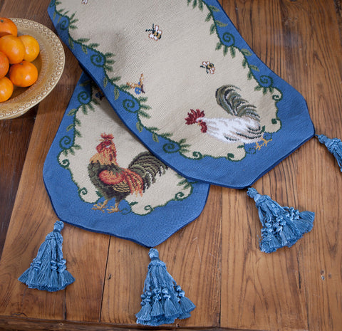 H14460 - French Provincial Needlepoint Table Linens