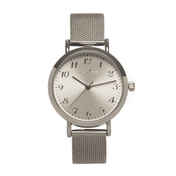 MARLEE WATCH CO | Mesh Silver