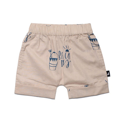Anarkid Beach Day Woven Pocket Shorts - Stone