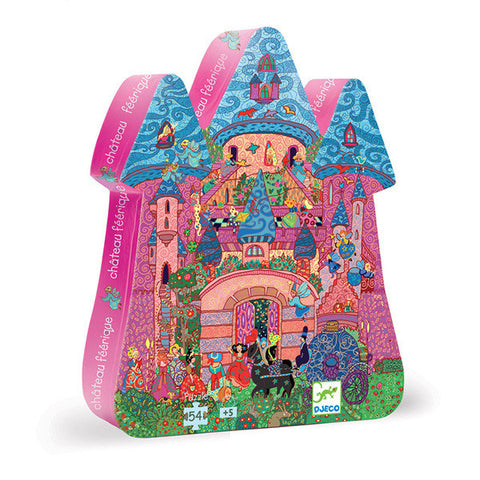 DJECO | The Fairy Castle - 54pc Silhouette Puzzle