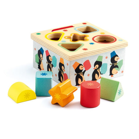 Penguin Wooden Shape Sorter