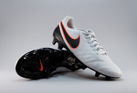 nike tiempo genio leather ii pure platinum black