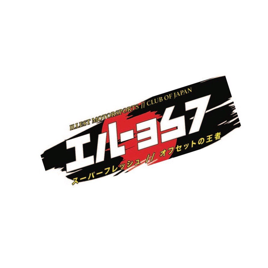 CLUB JAPAN BUMPER STICKER