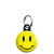 Acid House Rave Techno 80's Smiley Face - Mini Keyring