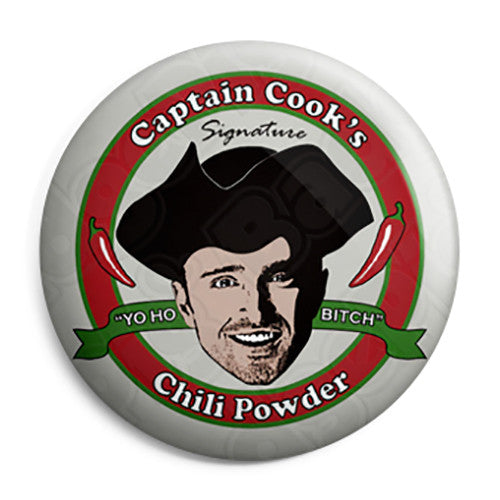 Breaking Bad - Jesse Pinkman Captain Cook's Chili - Button Badge