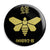 Breaking Bad - 00892-B Golden Moth Barrel Logo Button Badge