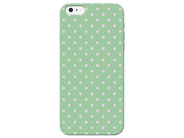 Mint Green Polka Dot Phone Case