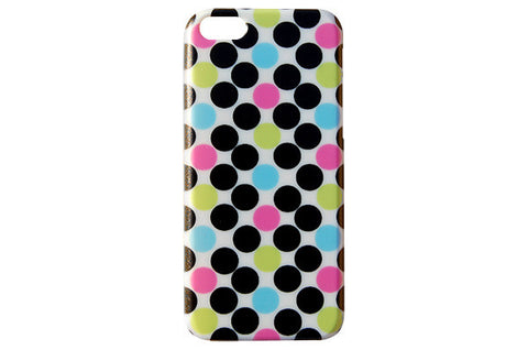 Black & Colorful Polka Dot Phone Case