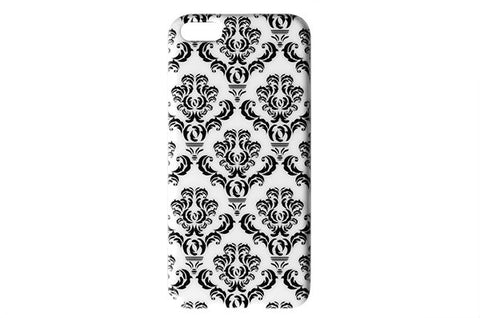 Black & White Damask Phone Case