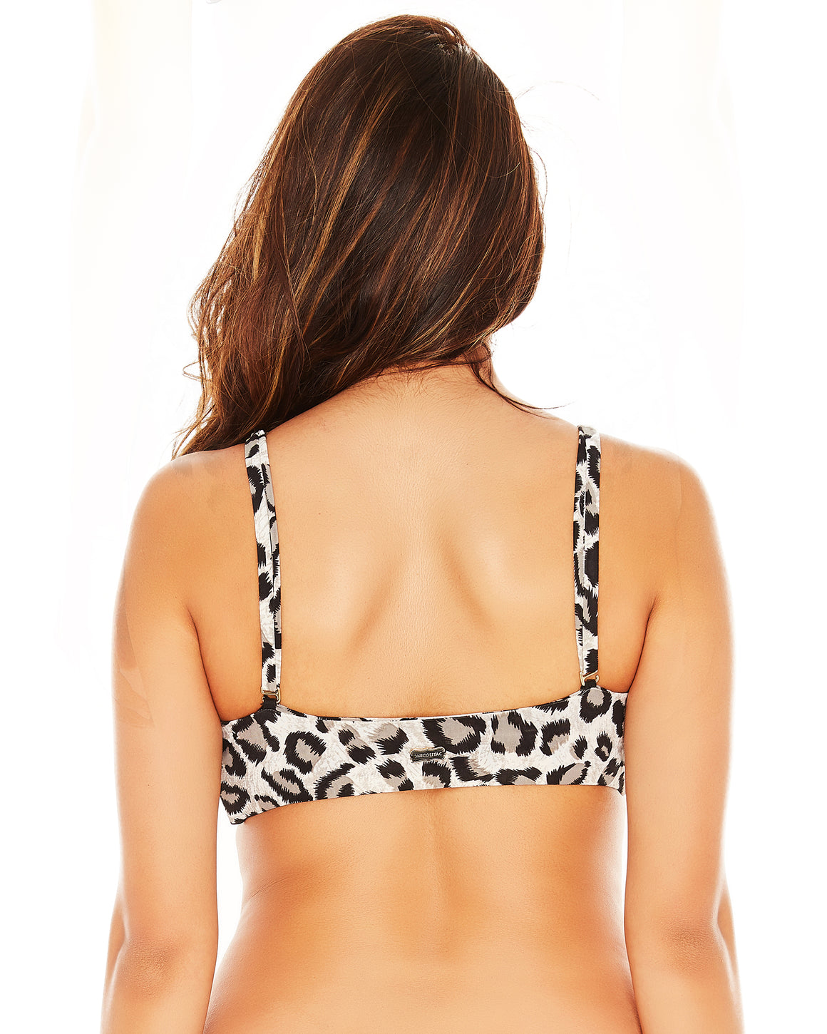 Isabella Top Bralette Swim Suit Swimwear Leopard Pool Bikini