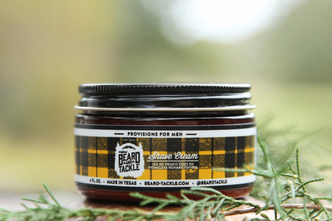NEW & IMPROVED Beard & Tackle Shave Cream - Beard & Tackle  - 1