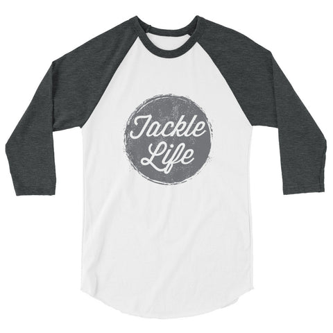 Tackle Life 3/4 sleeve raglan shirt (more colors available)