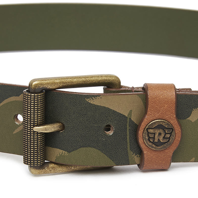 Brushstroke Camo Belt Camo Green