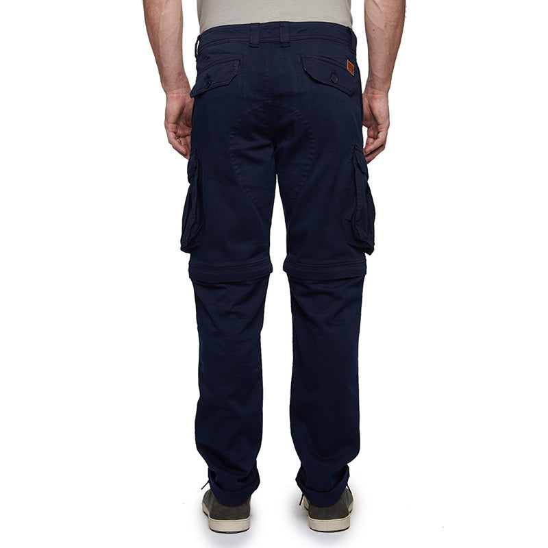 Convertible Cargo Pants Navy Blue