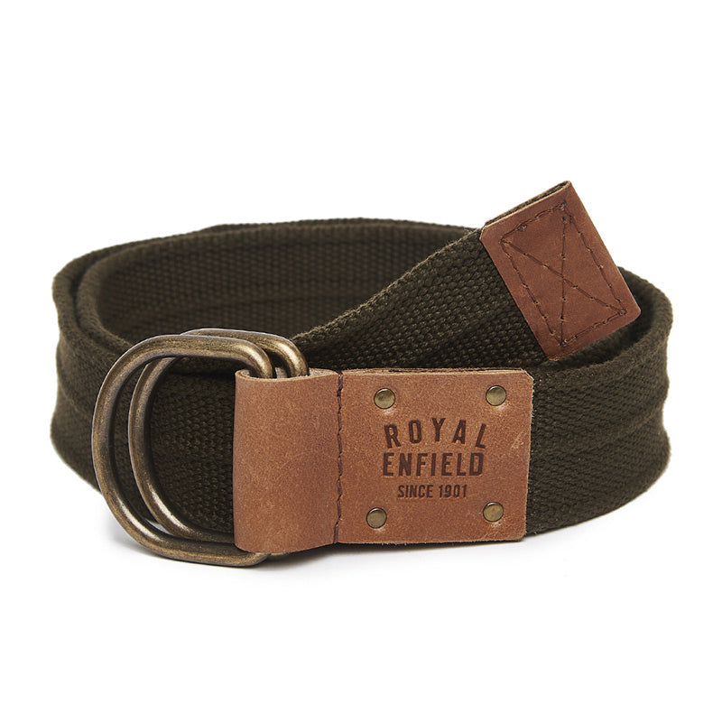 Double D Belt Green Brown - Royal Enfield