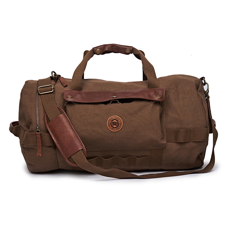 Flying Flea Duffel Bag Khaki Brown