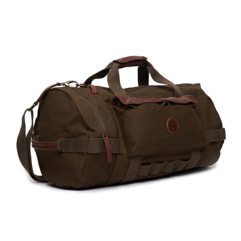 Flying Flea Duffel Bag Olive Green