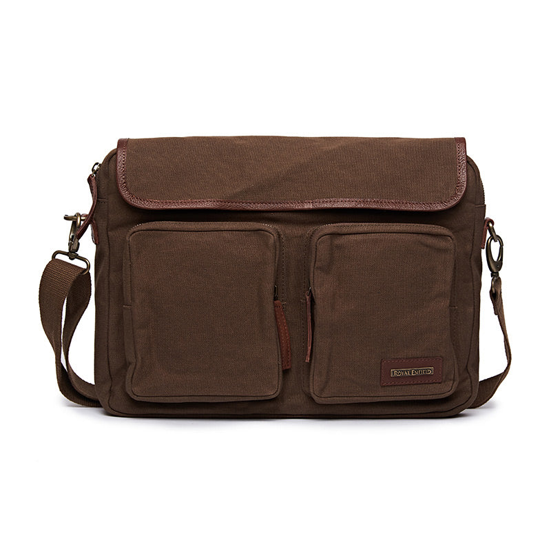 Flying Flea Messenger Bag Khaki Brown - Royal Enfield
