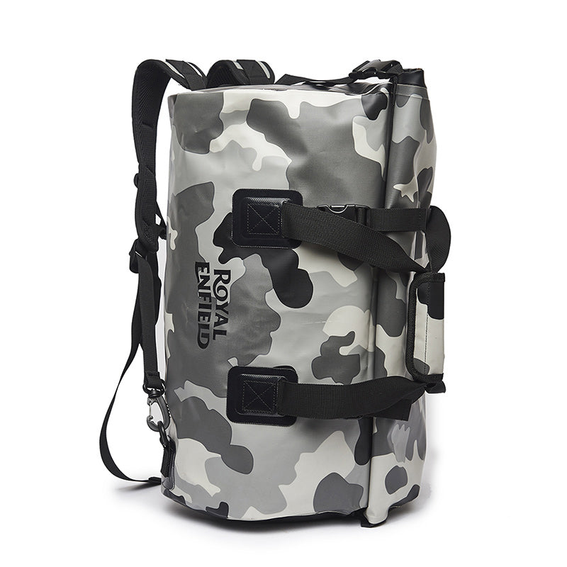 Fusillade Rainproof Duffel Bag Camo Grey - Royal Enfield