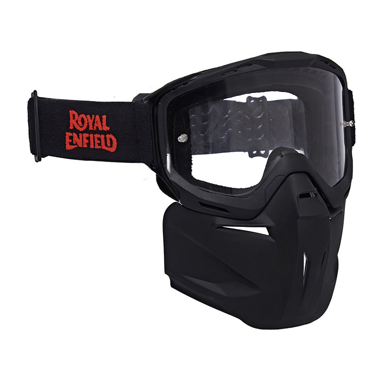 REmx Goggles With Detachable Mask Black