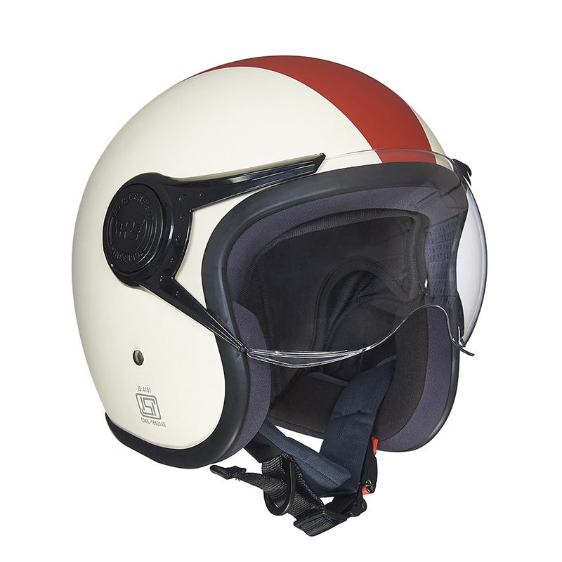 Spirit Helmet White Red