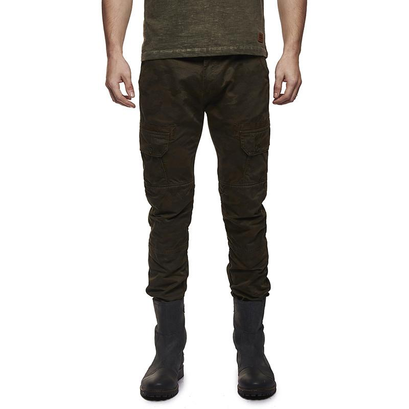 Re Camouflage Cargo Olive