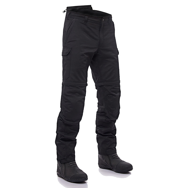 CONVERTIBLE RIDING TROUSER BLACK