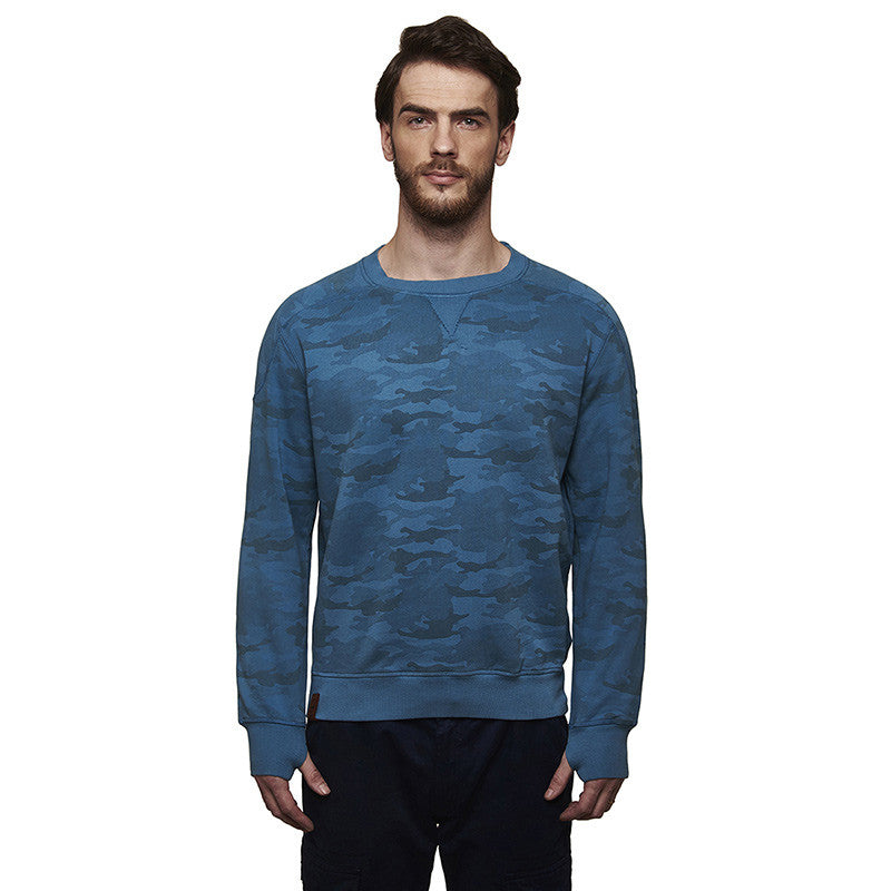 Re Camo Sweatshirt Navy