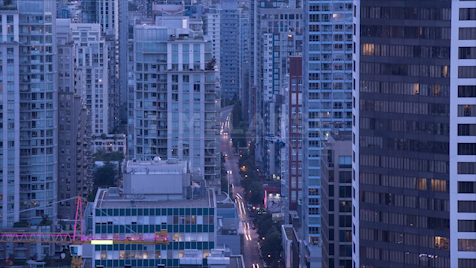 Time-lapse Vancouver: Seymour Street Dusk