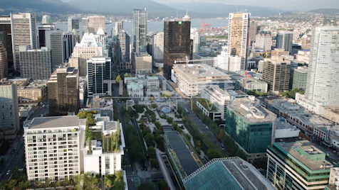 Time-lapse Vancouver: UBC Robson Square From Above
