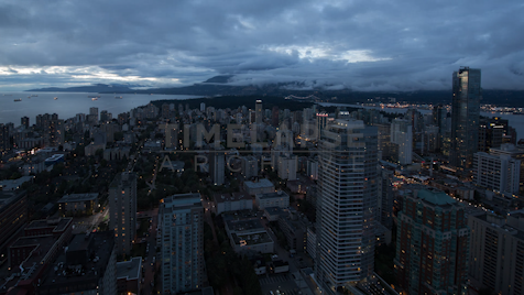 Time-lapse Vancouver: Downtown Day To Night