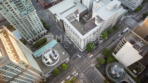 Time-lapse Vancouver: West Hastings From Above